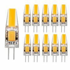 10x G4 2W ACDC 12V LED Corn Light Lampe Leuchtmittel Warmweiß Birne Stiftsockel