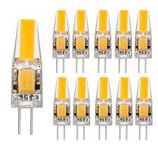 10x 2W G4 LED Lampe Leuchtmittel AC DC 12V Warmweiß 2800K Birne Stiftsockel