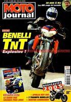 MOTO JOURNAL 1612 Essai BENELLI TNT 1130 APRILIA RSV 450 GUZZI 1100 California 3