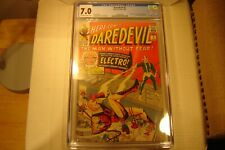 """Daredevil #2 """"2nd App. D.D. & Electro"""" 1964 *Key Issue* CGC 7.0 New Slab"""