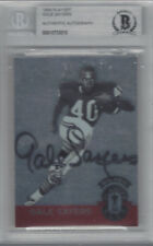 GALE SAYERS 1994 PLAYOFF AUTOGRAPHED PLAYOFF CLUB BECKETT AUTHENTICATED