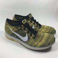 New Nike Flyknit Streak BSTN Boston Yellow Strike Shoe Mens Size 14 883299 701