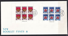 Jersey 1981 QE II 7p & 10p New Booklet Panes Issue FDC - Mint - Unaddressed