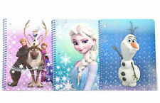 Disney Frozen Licensed Character Set of 3 Spiral Notebooks