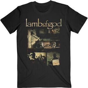 Lamb Of God 'Album Collage' (Black) T-Shirt - NEW & OFFICIAL!