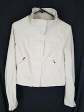 Lululemon winter-white light grey zipper Jacket womens size   6
