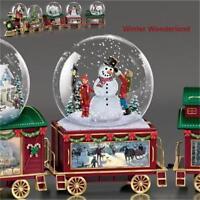 THOMAS KINKADE Winter Wonderland Express Miniature Snow Globe TRAIN #4 NEW