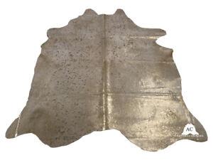 "Acid Washed Gold COWHIDE - (XL7'5""x6'5"" Ft) - Premium Cowhide Rug"