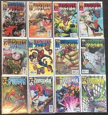 13 Webspinners Tales Of Spider #1,1,2,2,3,7,8,9,10,11,14,15 1999 Marvel lot
