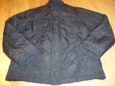 schöne Herren Männer Übergangsjacke Jacke Anorak Parka schwarz ESPRIT Gr. XL