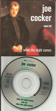 JOE COCKER When Night Comes EXTENDED & Ruby LIVE 3TRX MINI 3 INCH CD single CD3