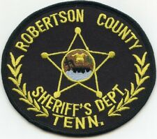 ROBERTSON COUNTY TENNESSEE TN SHERIFF POLICE PATCH