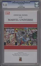 OFFICIAL INDEX TO THE MARVEL UNIVERSE #8 - CGC 9.8 - 0161376014