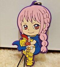 One Piece Gladiator REBECCA Dressrosa Rubber Strap Charm Keychain