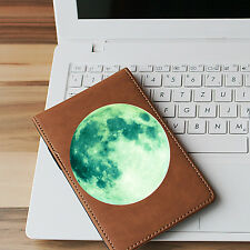 Glow in the Dark Moon Wall Sticker Suitable for Kindle, Tablets, Walls