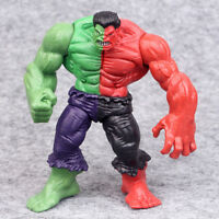 "5"" Avengers Comic Hero Red Green The Hulk Action Figure Collection PVC Toy"