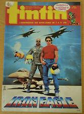 BD Comics Magazine Hebdo Journal Tintin No 24 41e 1986 Iron Eagle