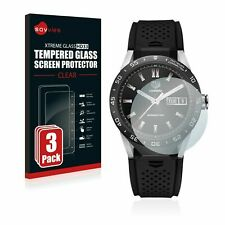 TAG Heuer Connected 46, 3x Savvies ® Xtreme HD33 Tempered Glass Screen Protector