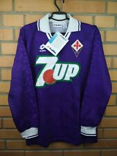 Fiorentina jersey medium 1992 1993 home shirt player issue deadstock Lotto