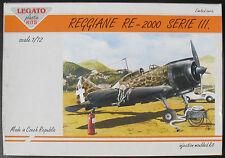 LEGATO 72002 - REGGIANE RE-2000 SERIE III. - 1:72 - Flugzeug Modellbausatz - KIT