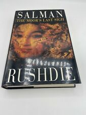 SALMAN RUSHDIE Signed The Moor's Last Sigh 1st US HCDJ novel Satanic Verses EXC