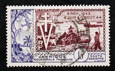 Sello AEF Stamp - Yvert y Tellier nº57 (A) Matasellados (Col1)