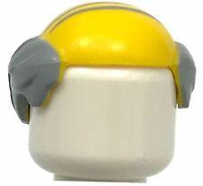 LEGO NEW MINIFIURE HAIR BALD COMBOVER SHORT HAIR GRANDPA WIG PIECE