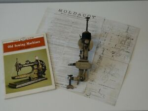 antique sewing machine MOLDACOT