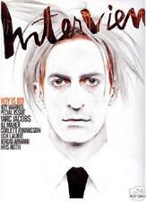 Interview Magazine June July 2008 MARC JACOBS Andy Warhol SCARLETT JOHANSSON