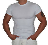 Classic Men's T-Shirt Short Sleeve Cotton Lycra M-2XL TIARA GALIANO 1133 EU SALE