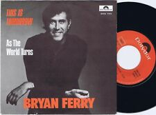 BRYAN FERRY This Is Tomorrow Norwegian 45PS 1977