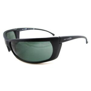 Arnette Sunglasses Slide 4007 01 Matt Black Grey Green