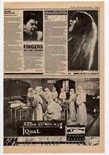 Xmal Deutschland Equal Advert NME Cutting 1983