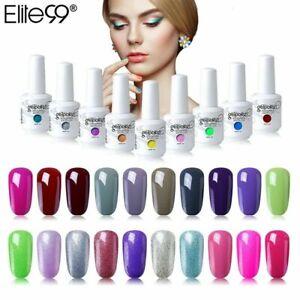 Elite99 Color Series Gel Nail Polish Top Base Manicure Varnish 15ML UV LED DIY
