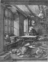 "Albrecht Durer: St Jerome in his Study Painting - 8""x10"" Canvas Fine Art Print"