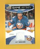 D18345 2012-13 Upper Deck Game Jerseys #GJMM Matt Moulson ISLANDERS