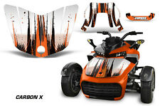 AMR Racing CanAm F3-S Spyder Hood Graphic Kit Wrap Roadster Sticker Decal CBNX O