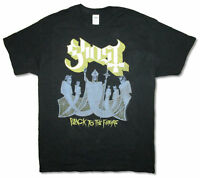 Ghost B.C. Black To The Future NA Tour 2015 Black T Shirt New Official Merch