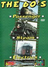 The 60s Passenger Steam Electrics Green Frog Productions DVD railroadiana trains