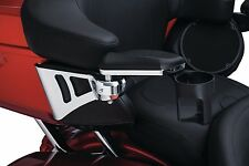 Kuryakyn Chrome Adjustable Rear Tour Pak Passenger Armrests Harley Touring 14-17