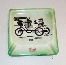 Portacenere Ceramica CIA MANNA TORINO C.I.A. PROMO OLIO FIAT Lenci ashtray