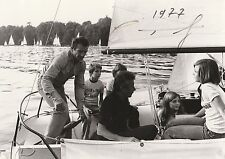 TABARLY PHOTO ORIGINALE DATEE ET SIGNEE