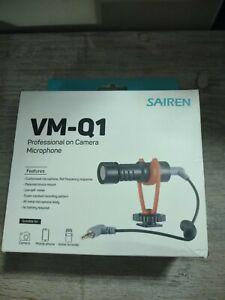 SAIREN Q1 Condenser Video Recording Vlog Microphone On-Camera