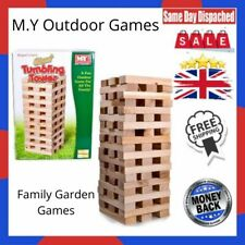 M.Y Outdoor Games - Giant Tumbling Tower - Family Garden Games