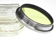 Leica Ernst Leitz Wetzlar Chrome Rim 0 Filter for Summitar  #1