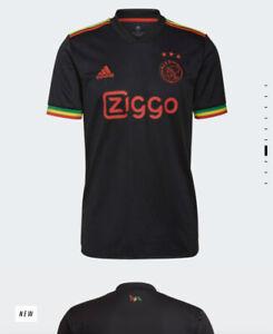 Ajax Amsterdam 21/22 Third Kit Bob Marley Three Little Birds Large (L) Shirt