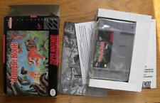 THE JUNGLE BOOK SUPER NINTENDO NES NTSC US VERSION
