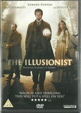 THE ILLUSIONIST (2006) DVD Edward Norton Jessica Biel magic 1900 illusions drama