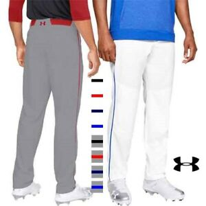 Under Armour Utility Relaxed Piped Mens Baseball Pants w/Braid Piping 1317259