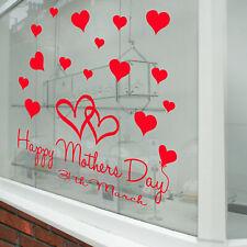 Feliz Día de la Madre Pared & Ventana Pegatinas Calcomanías Tienda Pantalla A339